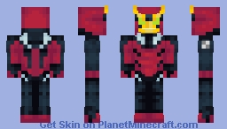 Jetray | Ben 10 | OS Outfit Minecraft Skin