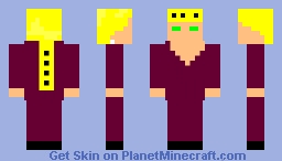 Giorno gavanna Minecraft Skin