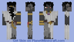Priest Dark Elf [FRP] Minecraft Skin