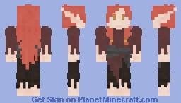 Warrior Ginger Elf [FRP] Minecraft Skin