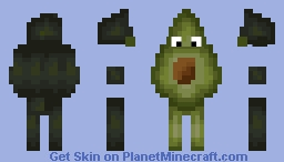 Avocado Me Minecraft Skin