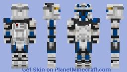 Captain Rex - Phase 1 ver. K1rax Minecraft Skin