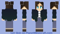 Chrysalism; Rainy Day. Minecraft Skin