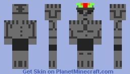 Aztec Statue Minecraft Skin