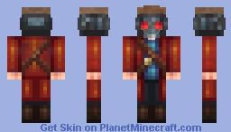 laser Minecraft Skin