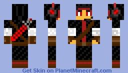 Red Assassin Minecraft Skin