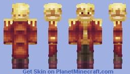 The Pancake Lord Minecraft Skin