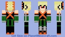Bakugo Katsuki Minecraft Skin