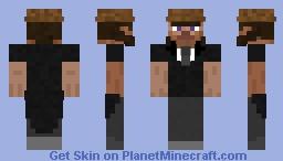 Banker man from the WILD WEST Minecraft Skin
