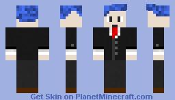fancy boi rage Minecraft Skin