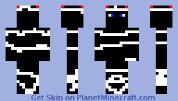 Dark cyber skin Minecraft Skin