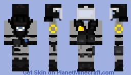 Olympus city riot gear Minecraft Skin