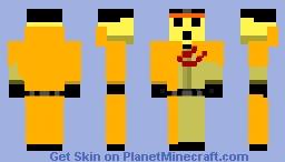 Pandora's Actor Minecraft Skin