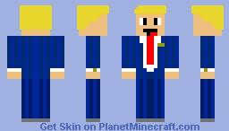 mr. president Minecraft Skin