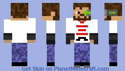 iskall Man! Minecraft Skin
