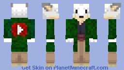 [1] Picpepper -> Satrix_I | Renard Blanc #1 Minecraft Skin
