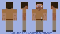 Dig Steve Minecraft Skin