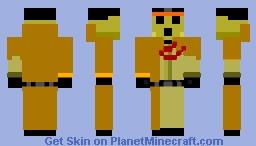 Pandora's Actor + Minecraft Skin