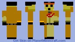 Pandora actor Minecraft Skin