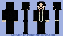 Le John Wick Minecraft Skin