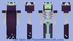 Minecraft dungeons the nameless one Minecraft Skin