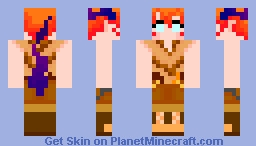 Chang with tail- Minecraft Skin