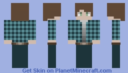 """""""I live in the woods"""" (my entry for ꕥ The Grotto ꕥ Skin Palette Contest) Minecraft Skin"""