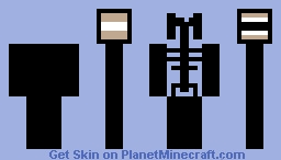 siren head Minecraft Skin