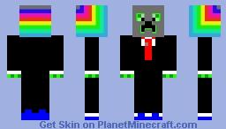 Creeper Robber Minecraft Skin