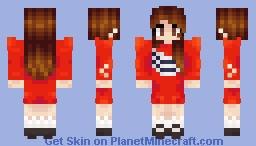 LOONA's Heejin - ViViD (MV Outfit) Minecraft Skin