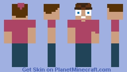Timmy Turner Minecraft Skin