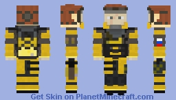 Finka (Tom Clancy's Rainbow Six Siege) Minecraft Skin