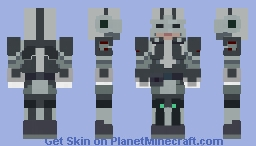 Mandalorian secret service officer Minecraft Skin