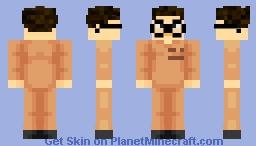 Prisoner nerd Minecraft Skin