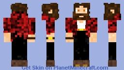 New red SGG Skin (Instead of Blue) Minecraft Skin