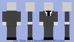 Slender Man Minecraft Skin