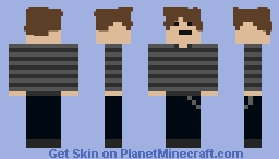 my second ever skin. please like? Minecraft Skin