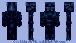 Blue Dragon (11 colors palette) Minecraft Skin