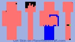 Ninja (underneath) Minecraft Skin