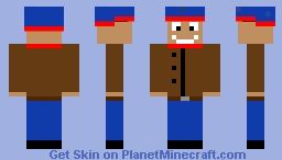 stan marsh (south park) Minecraft Skin