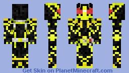 Super bumblebee 2018 Minecraft Skin