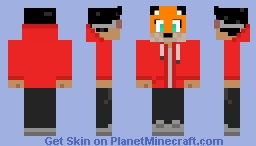 DeadFoxGaming Minecraft Skin