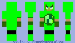 Emerald armor Minecraft Skin
