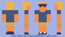 Mr.Cool Minecraft Skin