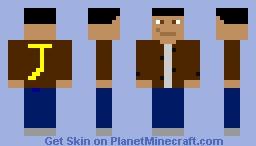 JT Minecraft Skin