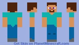 Bare bones steve Minecraft Skin