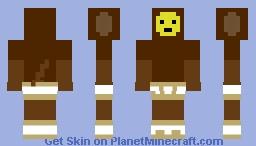 Monkey Brush Minecraft Skin