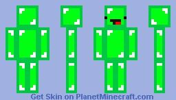 Green Skeppy Minecraft Skin