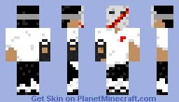 Slashed Mask Minecraft Skin