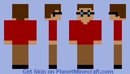 Visible man Minecraft Skin